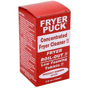 50 pack 4 Oz Commercial Restaurant Deep Fat Fryer Cleaner Cleaning Tablets
