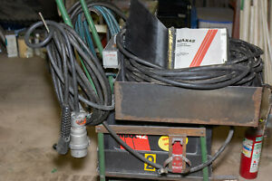 Hypertherm Model Max42 Plasma Cutter With Cart And 140 Of Cable