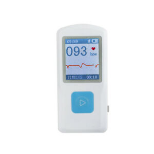 Fda Pm10 Portable Handheld Ecg Ekg Monitor Patient Heart Rate Machine usb Cable