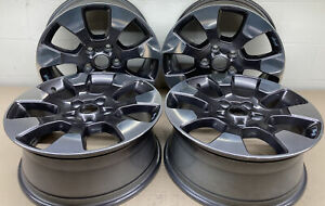 Jeep Wrangler 18 Oem Polished Charcoal Wheels Part 9222