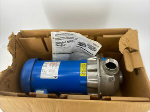 Goulds 3st1h95b3 1 1 2 X 2 6 Npe Series End Suction 3 Hp Centrifugal Water Pump