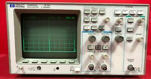 Hp 54600a Oscilloscope 100mhz 2 Channel S n 3227a13418