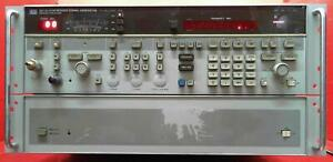 Hp Agilent 8673d h16 0 05 26 5ghz Synthesized Signal Generator 2822a00855 Parts