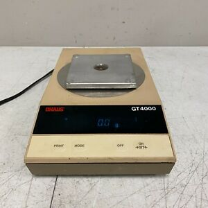Ohaus Scale Top Load Digital Scale Model Gt 4000 Tested Working