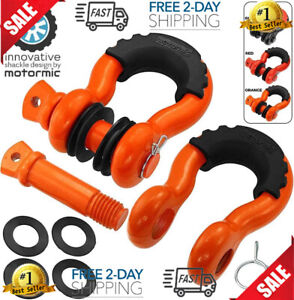 Orange Special D Ring Shackles 2pc 3 4 Clevis Shackle With 7 8 Pin