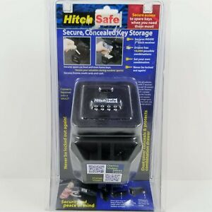 Hitchsafe Secure Concealed Key Solid Metal Storage Box Hs7000 New