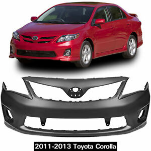 New Primered Front Bumper Cover For 2011 2012 2013 Toyota Corolla Oem 5211903902