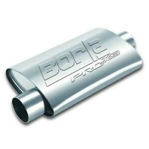 Borla Exhaust Proxs 19 Long 2 5 Center Inlet 2 5 Offset Outlet Oval Muffler