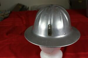 Vintage Aluminum U s Government Hard Hat Willson Full Brim