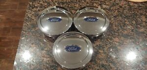 Oem Ford Expedition 6 Lug Chrome Center Caps Wheel Covers 6l14 1a096 bc Set Of 3