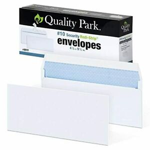 Quality Park 10 Self seal Security Envelopes Security Tint And Pattern Redi s