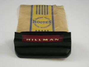 Rootes Group Hillman Imp Nos Steering Wheel Center Badge