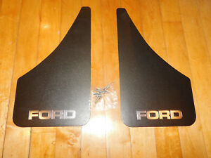 One Pair Vintage Thermoflex Ford Truck Or Car Mud Flaps Splash Guards