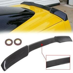Hydro Carbon Style Rear Trunk Wing Spoiler For 05 13 Corvette C6 Zr1 Style
