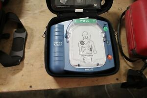 Philips Heartstart Home Aed Defibrillator Hs 1 W carry Case