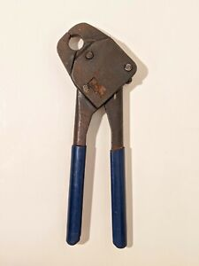 3 4 Pex Pipe Crimper Plumbing Compact Handheld Crimp Tool Made In Usa By Mil 3