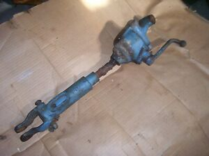 Vintage Fordson Major Diesel Tractor 3 Point Lift Link crank Side as is