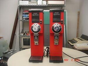 Qty 1 Bunn G3 Hd Red Commercial Coffee Grinder Works Looks Great 22100 0001