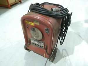 Lincoln Arc Welder 250 250 8039 Idealarc 250 Nema Class Ii 230 460v 1ph