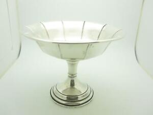 Vintage Cartier Sterling Silver Footed Candy Dish A