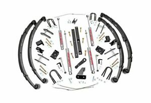 Rough Country 4 5 Suspension Lift Kit For Jeep Wrangler Yj 4wd 617 2