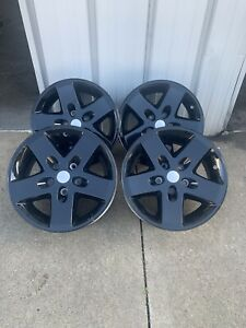 17 Jeep Wrangler 2007 2017 Oem Wheels Set Of 4