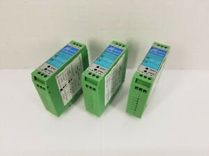 Mescon Isotec 2 Current Loop powered Isolator Signal Conditioner lot Of 3