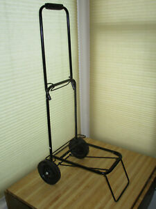 Folding Dolly Handcart Handtruck Light Portable Collapsible Luggage Carrier