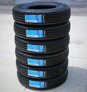 6 New Fortune St01 St 235 85r16 Load E 10 Ply Trailer Tires