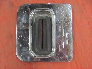 1963 63 Chevy Impala Ss Console Auto Shifter Insert Plate 3830456 Chevrolet