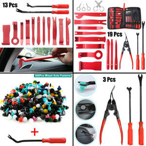 650x Car Trim Removal Tool Set Hand Tools Pry Bar Panel Door Interior Clip Kit