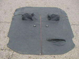 Used Oe Tonneau Cover Mgb 71 80 W Headrests Cockpit Cover