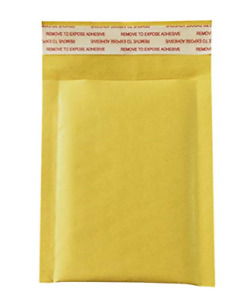 50 Pack 3 5x5 Inches Small Padded Envelopes Kraft Bubble Mailers Self Seal Bags