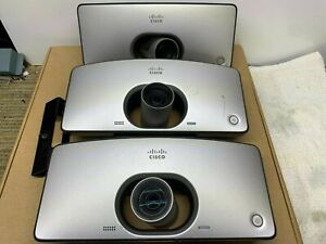Lot Of 3 Cisco Ctssx10n Telepresence Sx10 Hd Camera