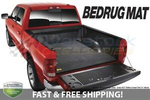 Bedrug Truck Mat For Classic 2009 2021 Ram 1500 Crew Cab W O Rambox 5 7ft Bed