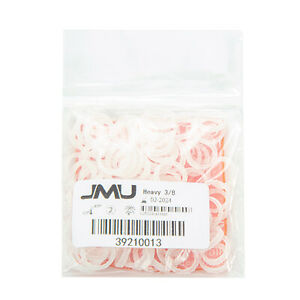 Jmu Dental Orthodontic Intraoral Elastic Latex Free Clear Bands Made In Usa