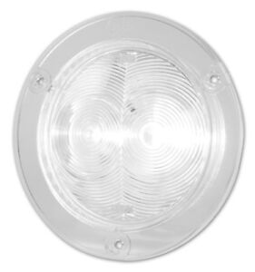 Grote 60631 Supernova 4 Flanged Led Hook Up Light Clear