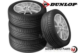 4 Dunlop Signature Hp 245 45r18 96w All Season Ultra High Performance Tires