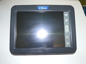 Trimble 58270 07 Display With Wiring Harness As Is Not Tested