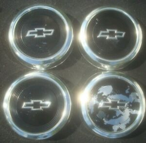 Set Of 4 Chevy 1984 1991 Chevy 10 5 Dog Dish Hubcaps Truck Van S10 Astro