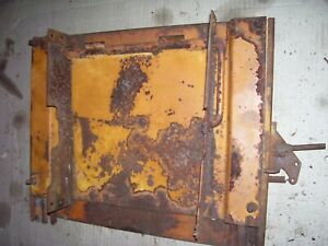 Vintage Minneapolis Moline 445 Gas Tractor seat Base Mount Brkt 1957