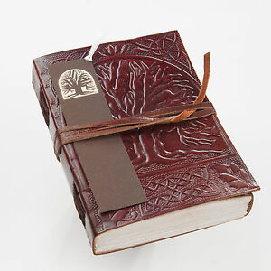 Tree Of Life Leather Handmade Journal Diary Blank Book Notebook Writing Journal