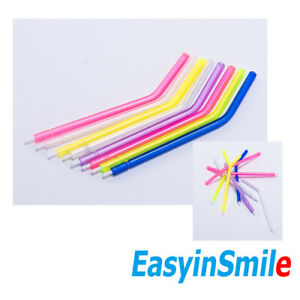 100pcs Easyinsmile Disposable Nozzles Tips For 3 Way Syringe Air Water Triple