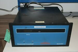 Rosemount Analytical Nox Analyzer 951c tested