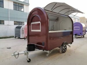 Mobile Food Cart Trailer made To Order Stainless Steel Model