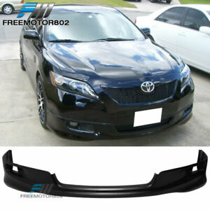 Fits 07 09 Toyota Camry Oe Factory Se Style Front Bumper Lip Pu