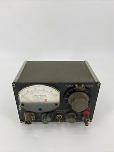 General Radio Company 1232 a Tuned Amplifier And Null Detector