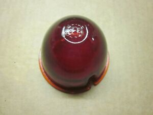 Guide Red Glass Lens 5936147 Nos Circa 30 s 40 s Fits Trucks