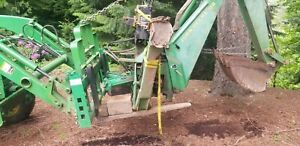 John Deere 8b Backhoe For 870 970 1070 990 4005 Tractors