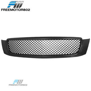 For 00 05 Cadillac Deville Dts Dhs Mesh Style Grille Abs Black Front Grill